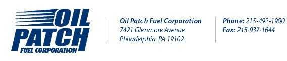 Oil Patch Fuel Corp